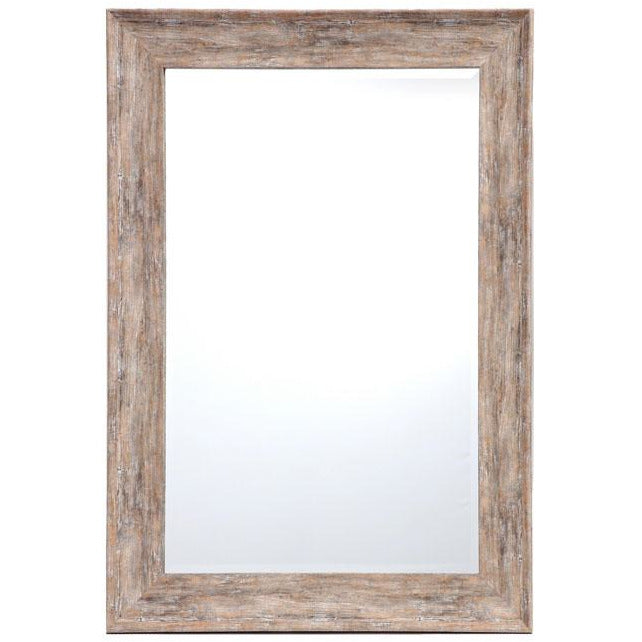 Willow Wall Mirror Rustic Brown 80x100cm