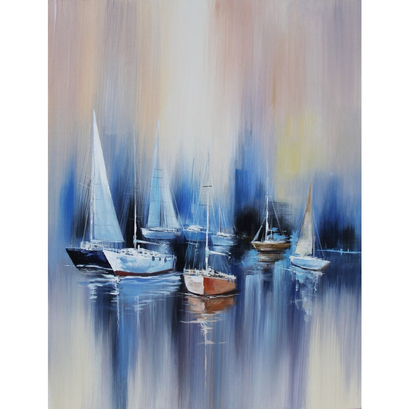 Yacht Club Oil Canvas 76x100