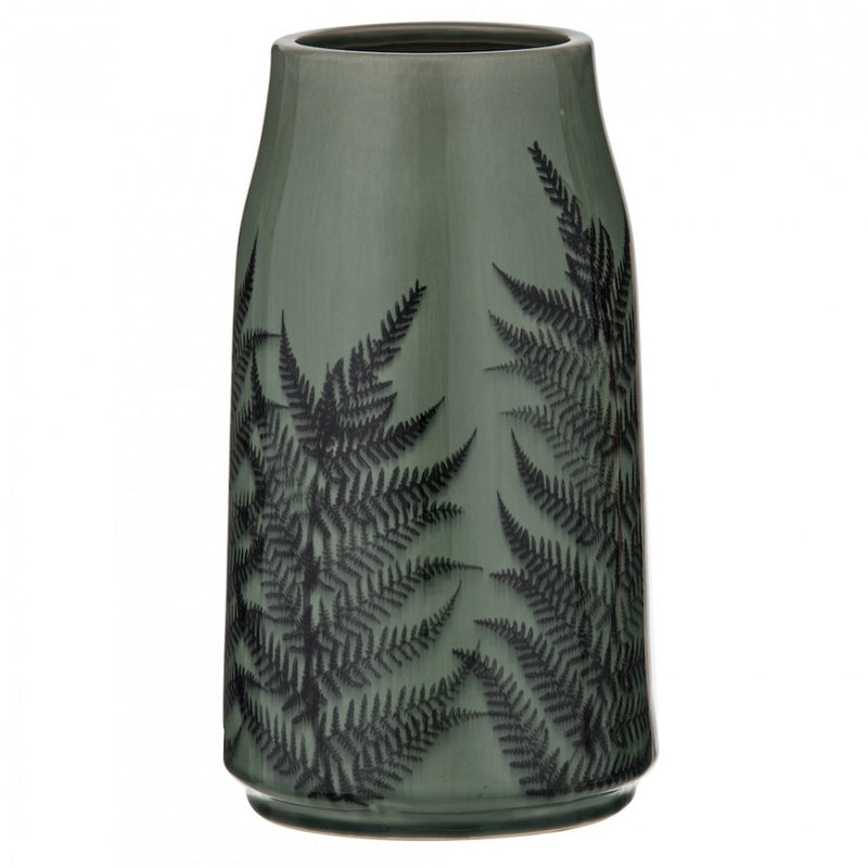 Caris Vase Sage/Black