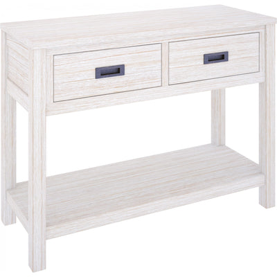 Beech Hall Table Brushed White