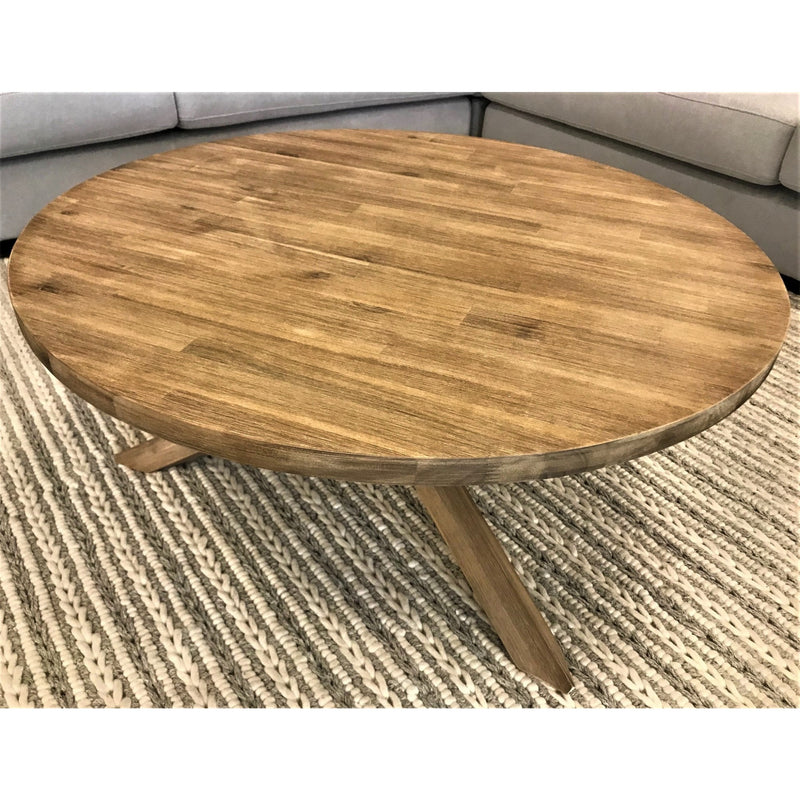 Ocean Grove 900 Round Coffee Table Brownwash