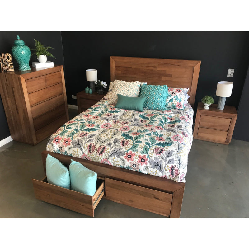 Hastings Queen 4 Piece Bedroom setting Tasmanian