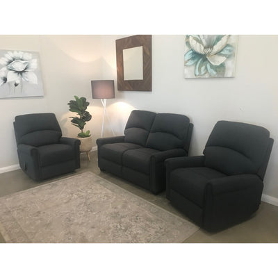 Elwood 2 Seater Loveseat & 2 Single Recliners