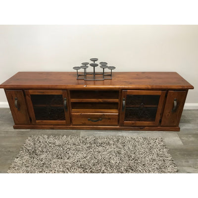 Windsor Large TV Unit Rough Sawn