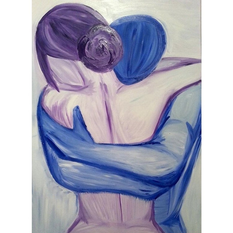 Embrace Oil Canvas 76x100