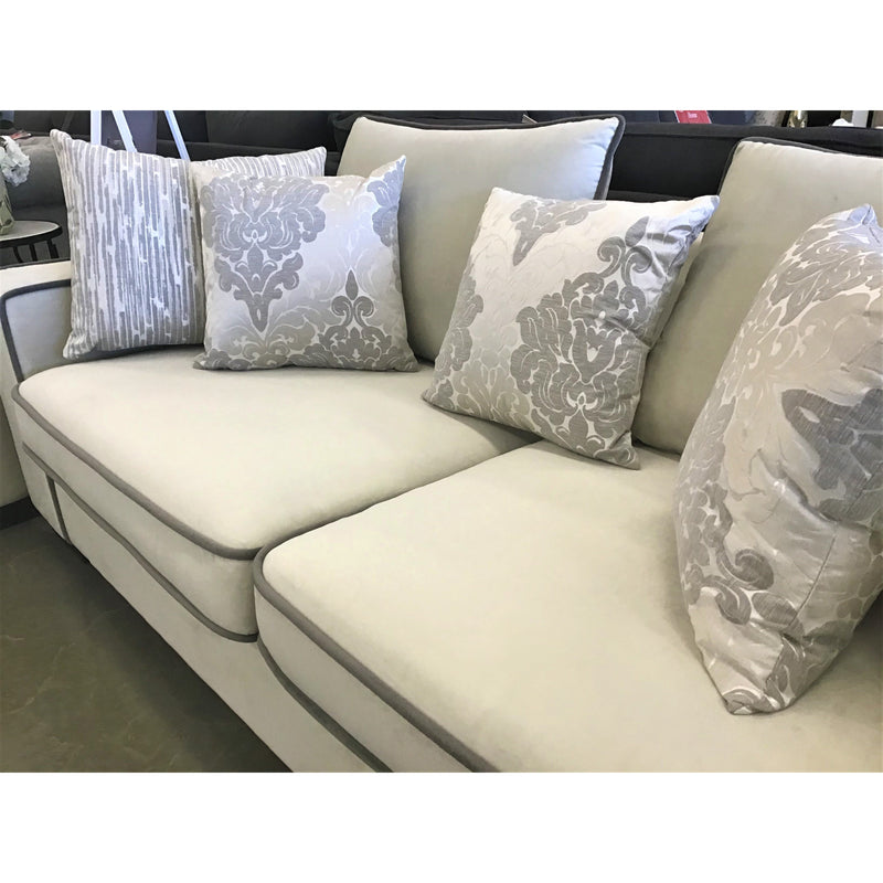 Westerville 3 Seater Sofa Made From Fabric Materials