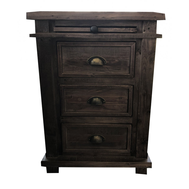 Wentworth 3 Drawer Bedside