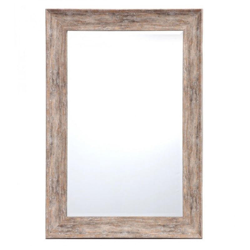 Willow Wall Mirror Rustic Beach 80x100cm