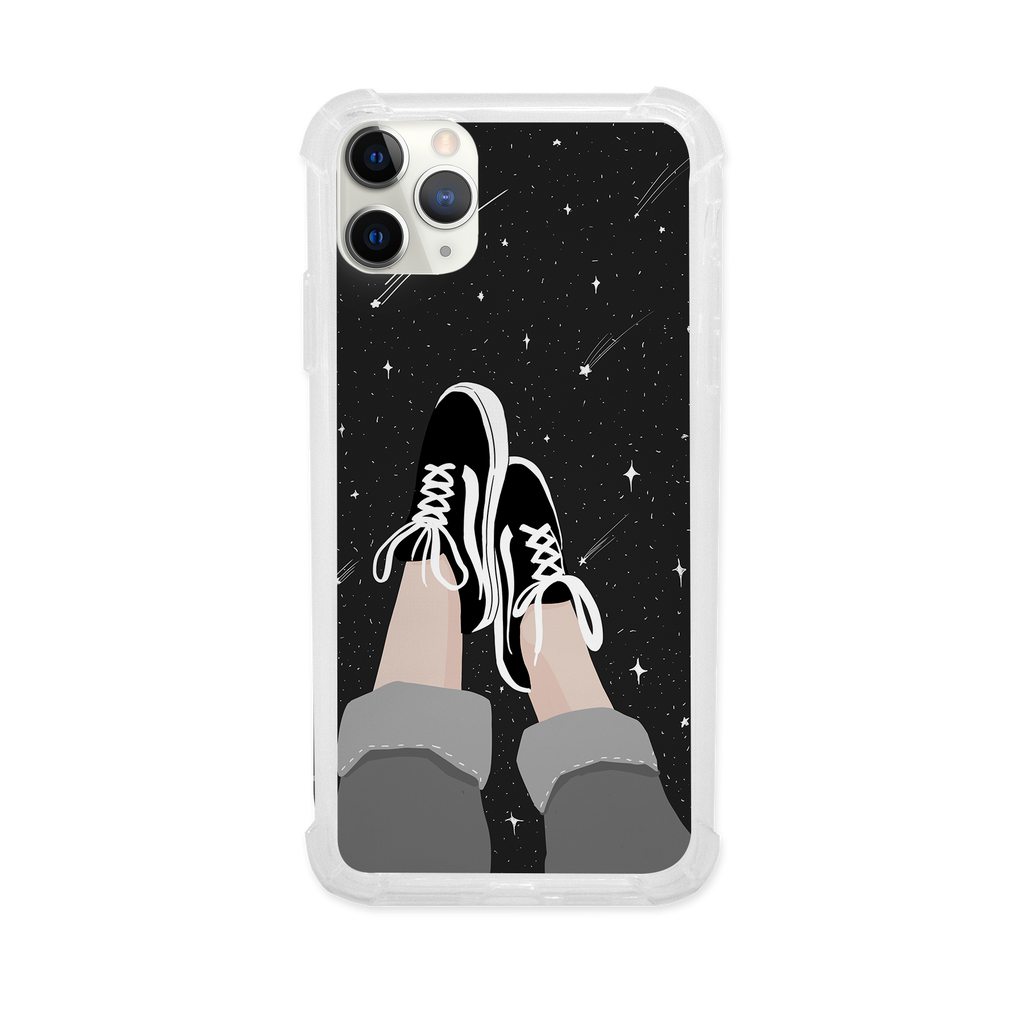 Sneakers at Midnight Shock Case