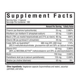 Seeking Health, B Complex Plus, Supplement Facts, Ingredients