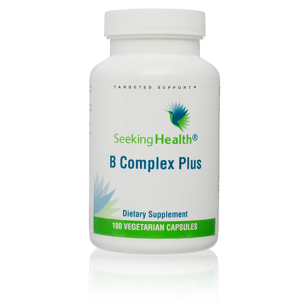 Seeking Health, B Complex Plus, 100 Vegetarian Capsules