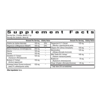 Gallbladder Nutrients, Seeking Health - Supplement Facts
