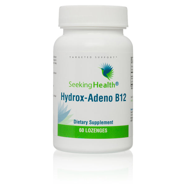 Seeking Health, Hydrox-Adeno B12 60 Lozenges