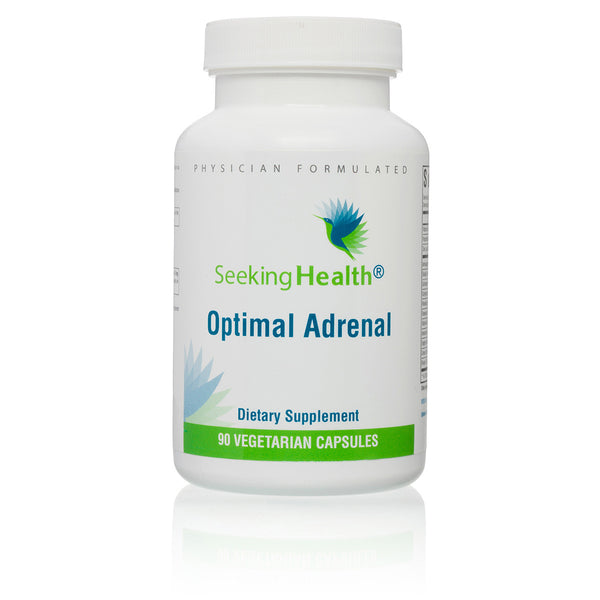 Seeking Health, Optimal Adrenal - 90 Capsules