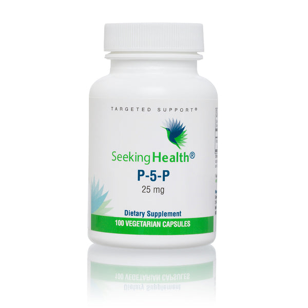 Seeking Health, P-5-P 100 Vegetarian Capsules