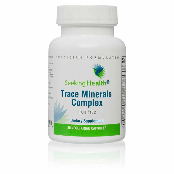Seeking Health, Trace Minerals Complex - 30 Capsules
