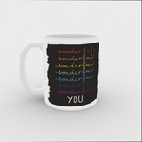 VICKY YORKE - 11oz Mug - WONDERFUL YOU (5236983889964)