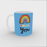 VICKY YORKE - 11oz Mug - THANK YOU JUST ISN'T ENOUGH (5236981104684)