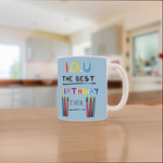 VICKY YORKE - 11oz Mug - I.O.U THE BEST BIRTHDAY EVER (5236969603116)