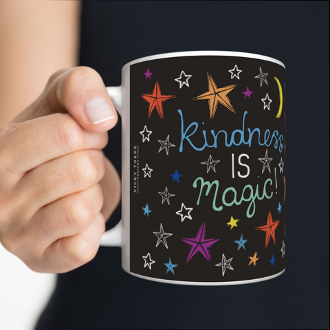 VICKY YORKE - 11oz Mug - KINDNESS IS MAGIC (5236976812076)