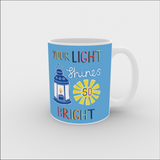 VICKY YORKE - 11oz Mug - YOUR LIGHT SHINES SO BRIGHT (5236987625516)