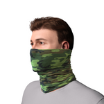 Unisex Textile Snood - Green Camo (5127195361324)