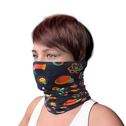 Unisex Textile Snood - Space (5234887753772)