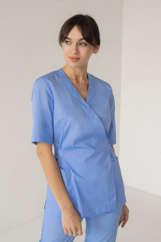 "Scrub Set ""Mirra"" blue"