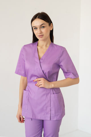 "Scrub Set ""Mirra"" purple"