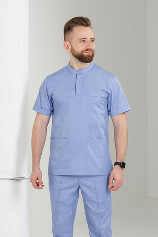 "Men's medical suit (blue) ""Maxim"""