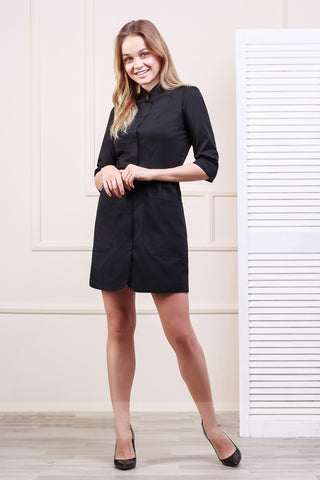 "Lab Coat ""Olimpia"" black"