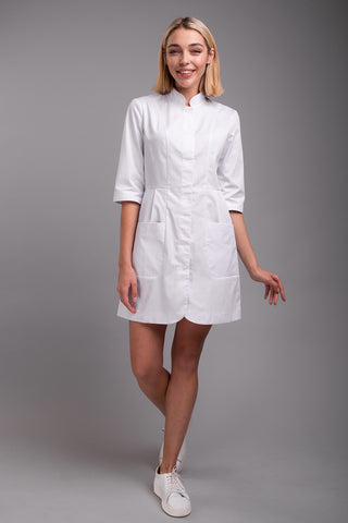 "Lab Coat ""Olimpia"" short"
