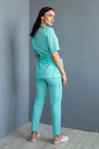 "Scrub Set ""Mirra"" mint"