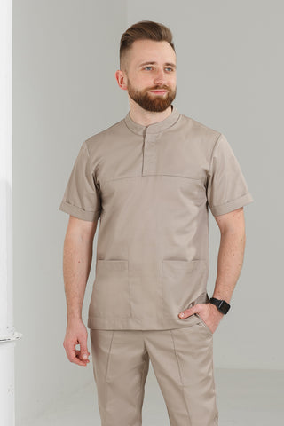 "Men's medical suit (sand) ""Maxim"""