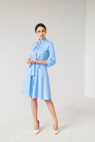 "Lab Coat ""Camilla"" blue"