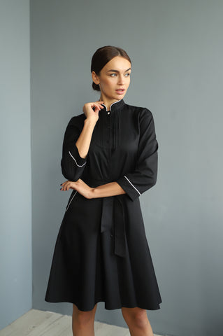 "Lab Coat ""Camilla"" black"