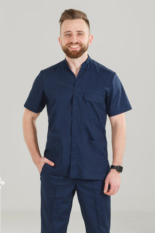 "Men's medical suit (blue) ""Roman"""