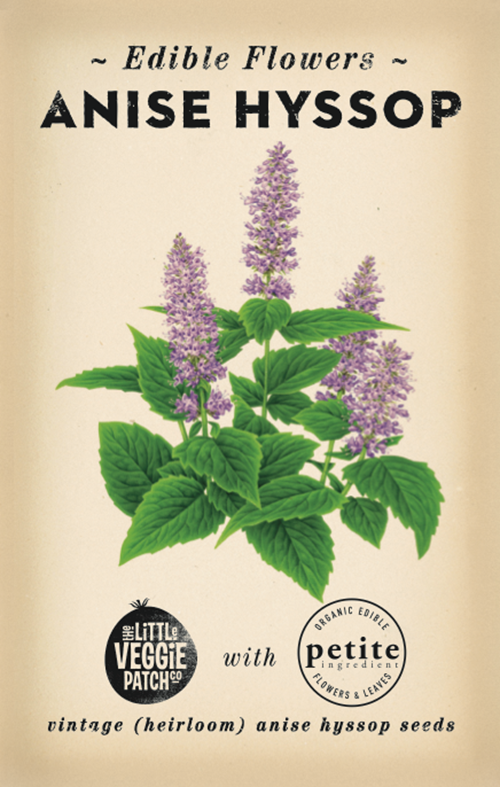 The Little Veggie Patch Co. Anise Hyssop Edible Flower Seeds