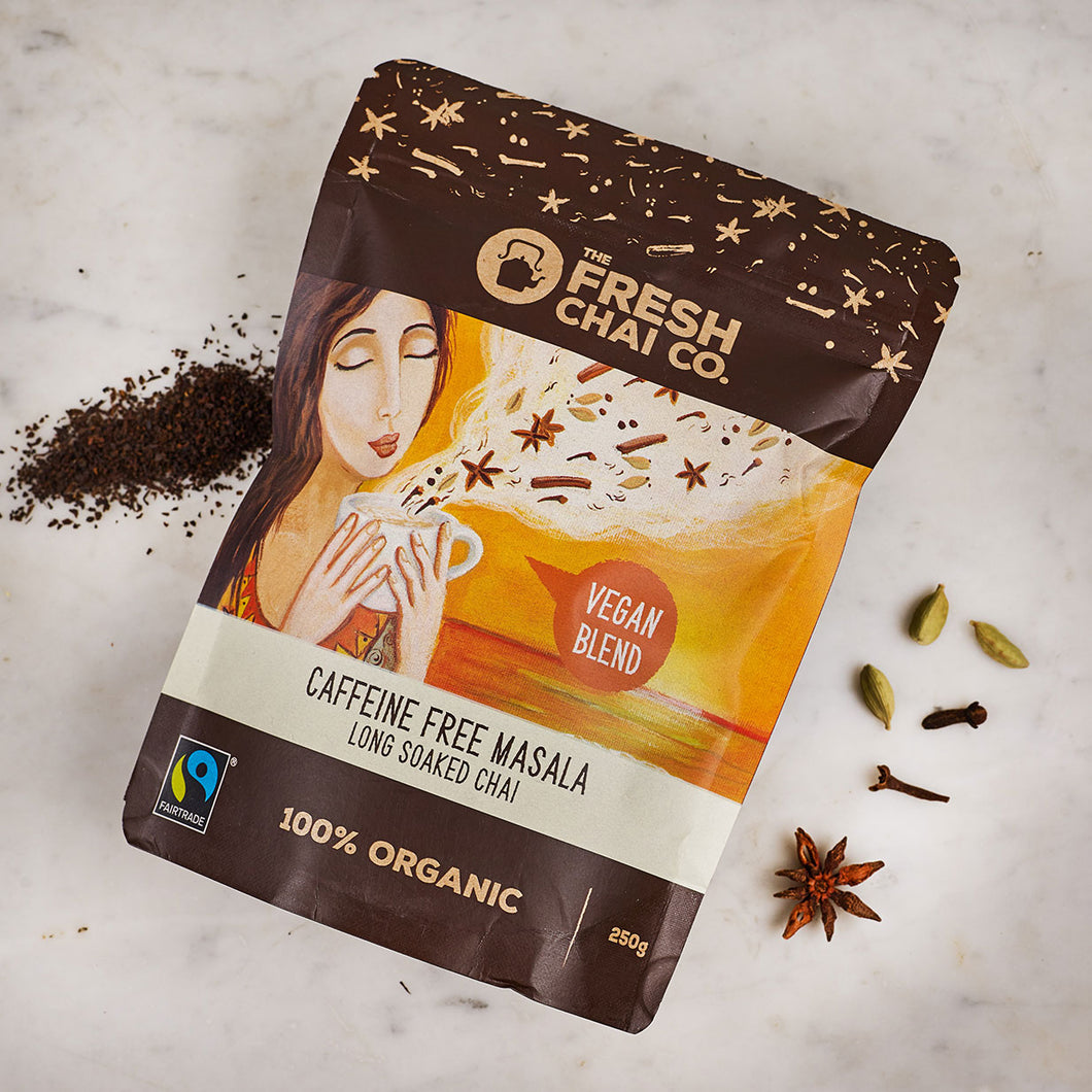 The Fresh Chai Co. Vegan Caffeine Free Masala Chai 250g