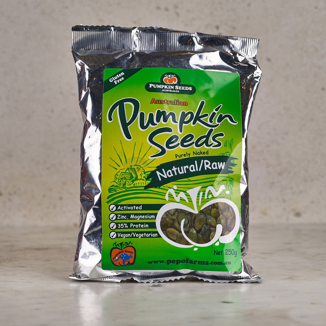 Pumpkin Seeds Australia Natural/Raw Pumpkin Seeds 250g