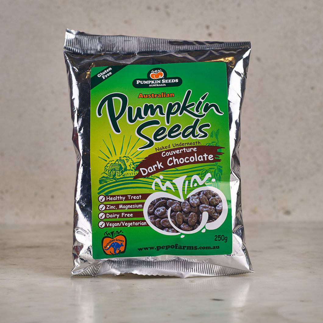 Pumpkin Seeds Australia Dark Chocolate Pumpkin Seeds