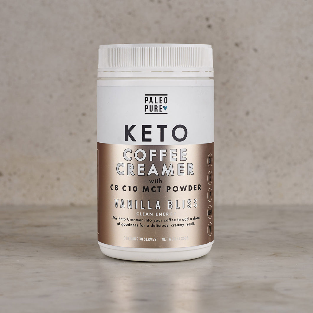 Paleo Pure Keto Coffee Creamer Vanilla Bliss 250g