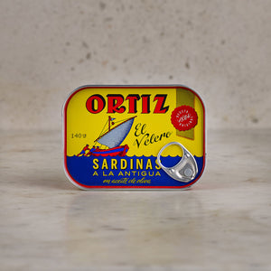 Ortiz Sardines in Olive Oil 140g