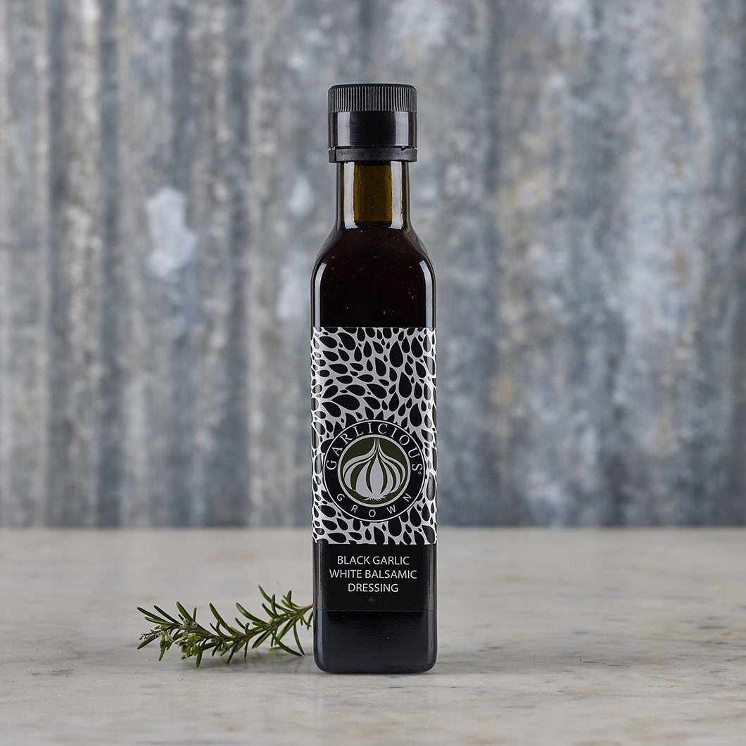 Garlicious Grown Black Garlic White Balsamic Dressing 250ml