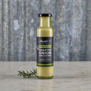 Roza's Gourmet Roasted Onion Dressing With Toasted Hemp Seeds & Hemp Seed Oil 250ml