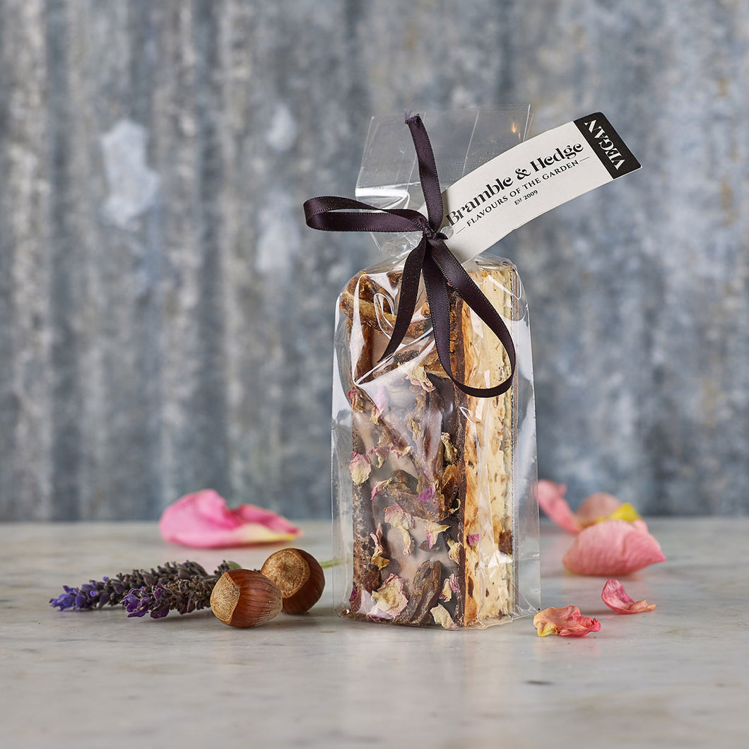 Bramble & Hedge Vegan Nougat - Sticky Date & Caramel 150g