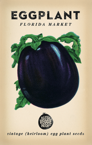 The Little Veggie Patch Co. Florida Market Eggplant Seeds