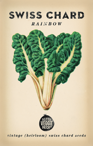 The Little Veggie Patch Co. Rainbow Swiss Chard Seeds