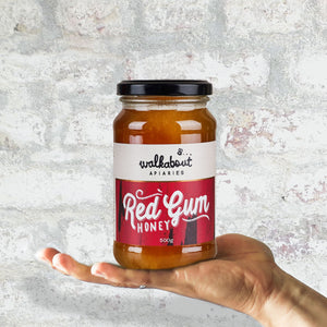 Walkabout Apiaries Red Gum Honey 500g