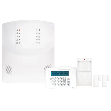 NAP-ISEC-KIT1 - iSecure Go-Anywhere Hub, ISEC-WL-KEYPAD Wireless LCD Keypad, (2) ISEC-WL-XMITTER Wireless Window/Door Transmitters, ISEC-MOTION Motion Sensor, Plug-in Transformer